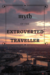 extroverted traveller