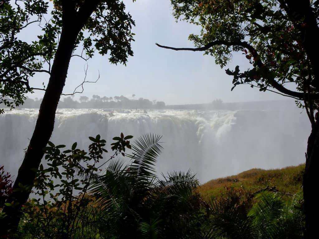 Victoria Falls from the Zimbabwe side