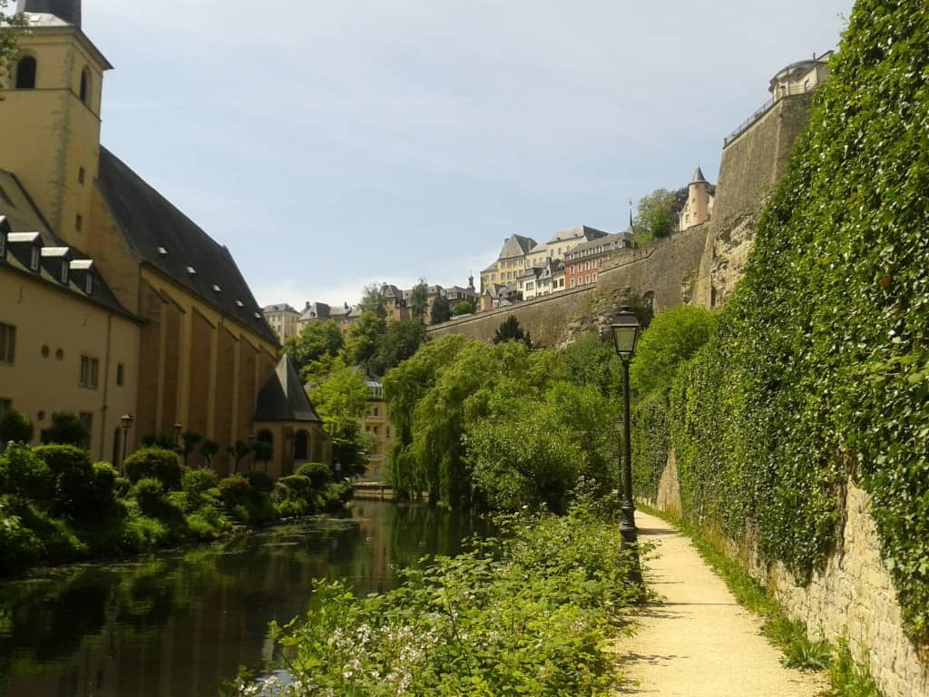 choosing a travel destination - Luxembourg