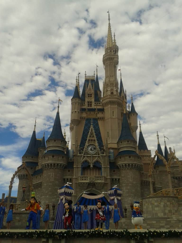 Cinderella Castle, Walt Disney World, Orlando, Florida