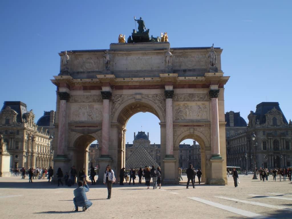 Entrance to the Louvre - Paris, France