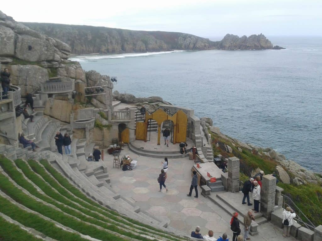 South West England - Minack Theatre Cornwall