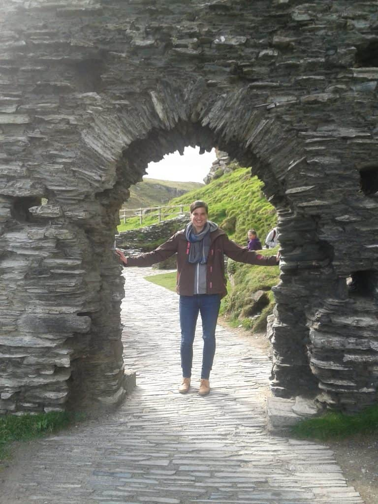 South West England - Tintagel Castle Cornwall