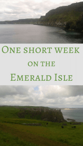 One short week on the Emerald Isle Pin