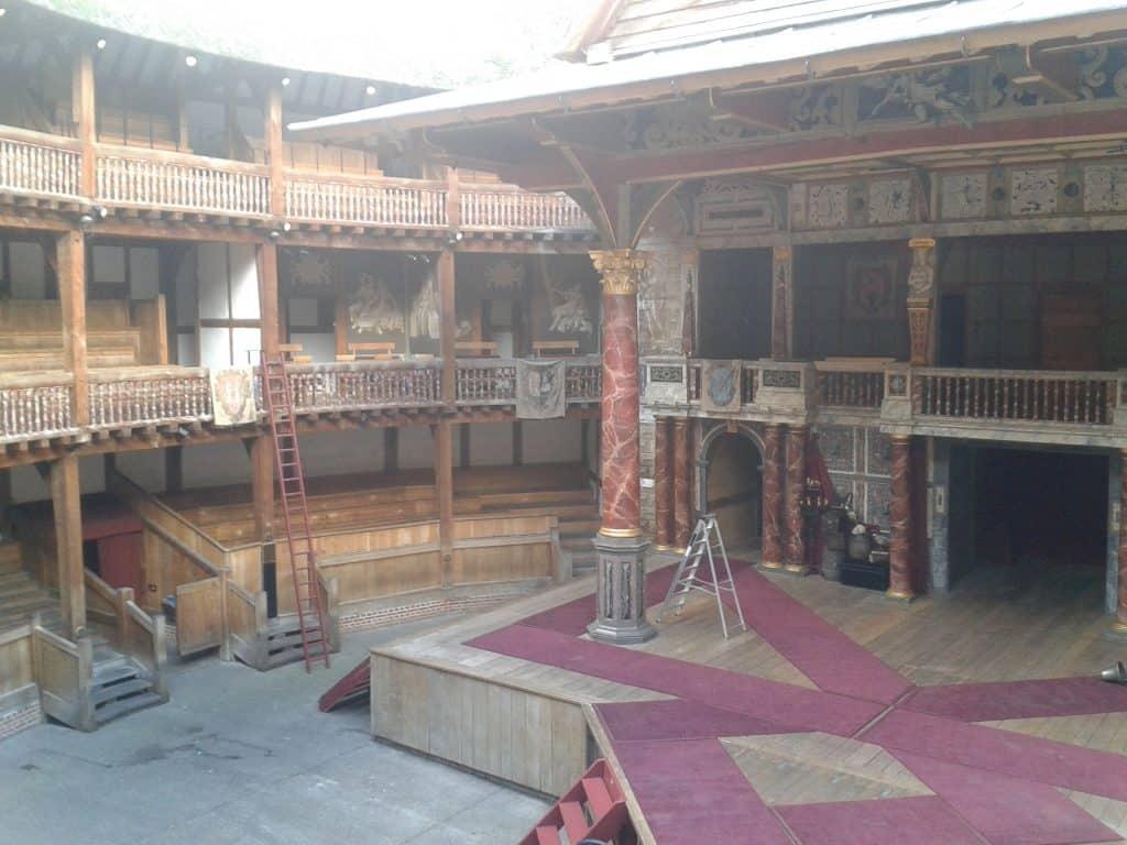 Shakespeare's Globe Theatre Stage London