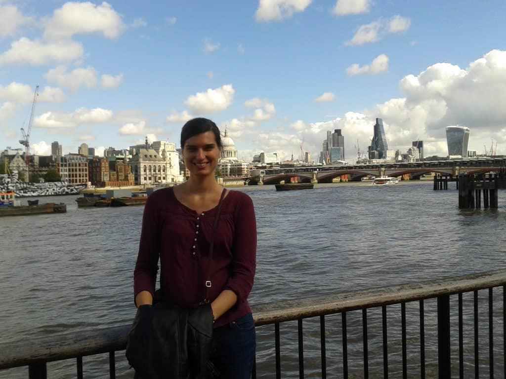 South Bank Thames London