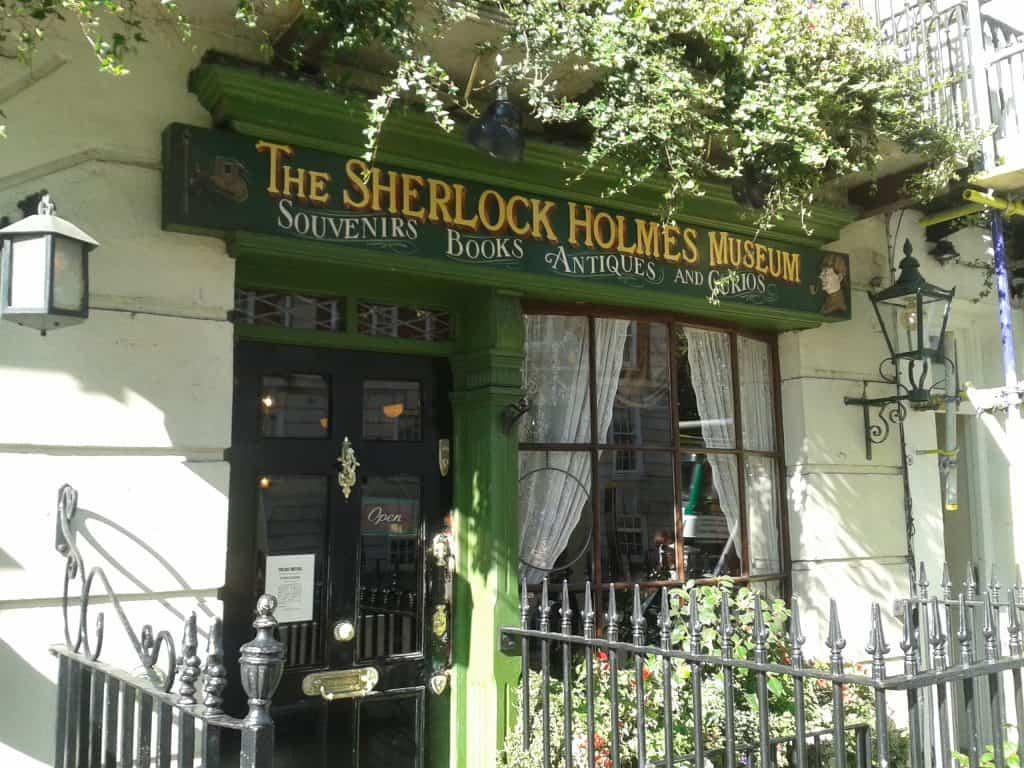 herlock Holmes Museum Entrance 221B Baker Street London