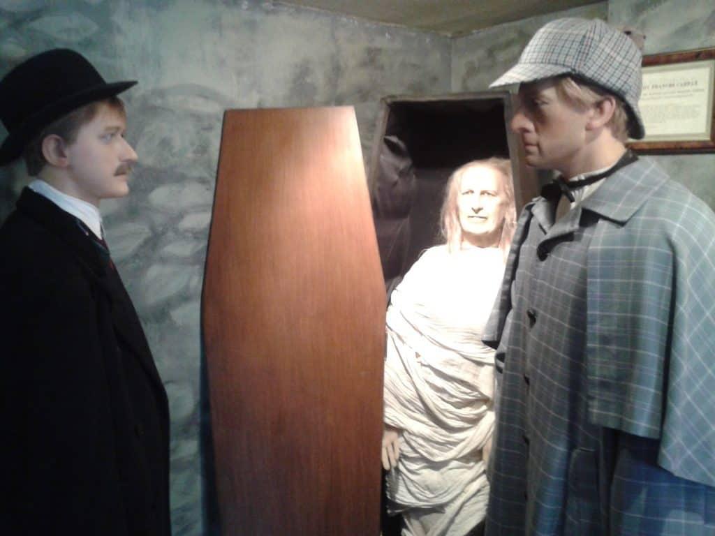 Serlock Holmes Museum Wax Figures London