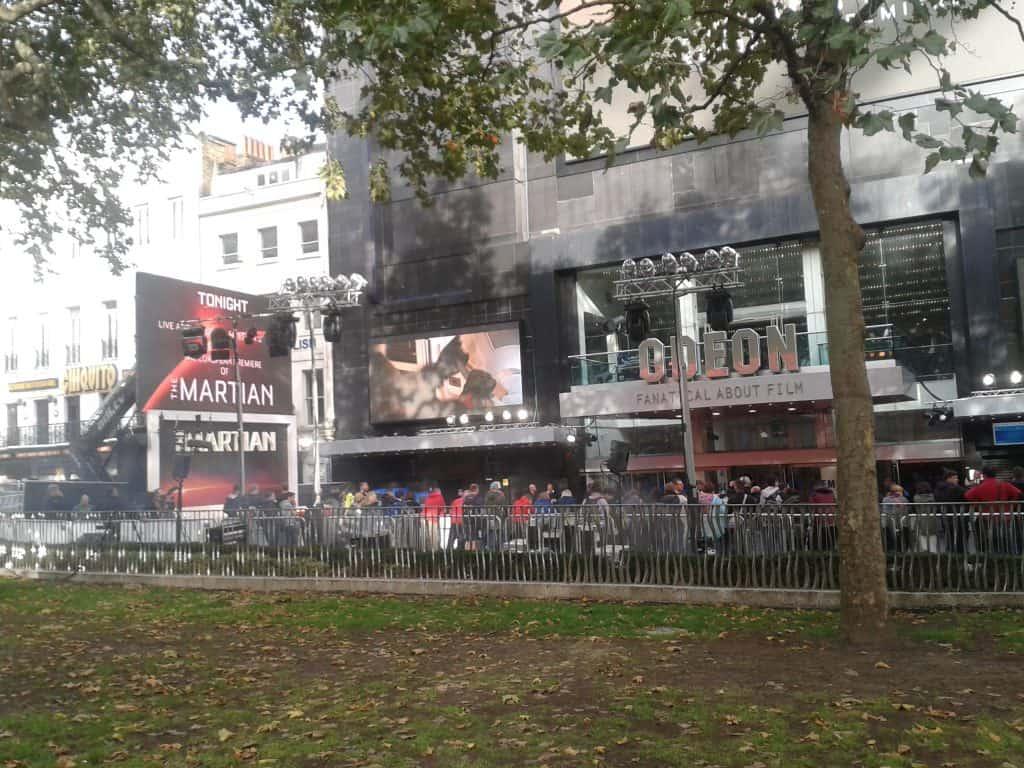 Odeon Cinema London Leicester Square