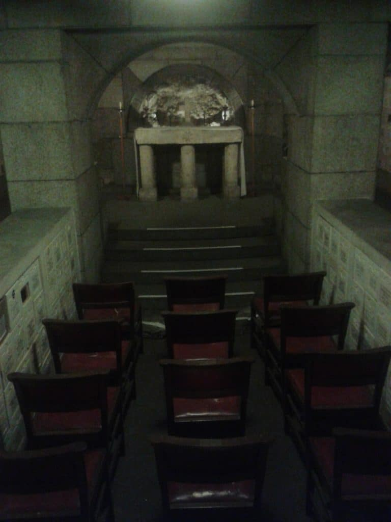 All-Hallows-By-The-Tower crypt London
