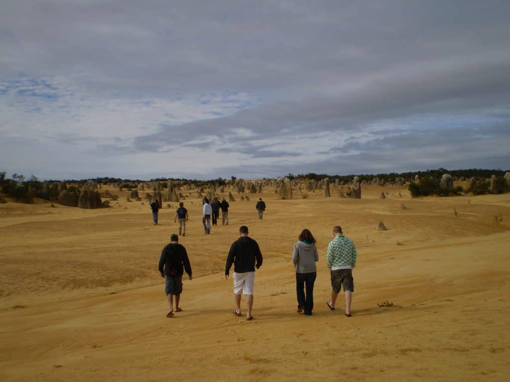 group tours Western Australia Pinnacles