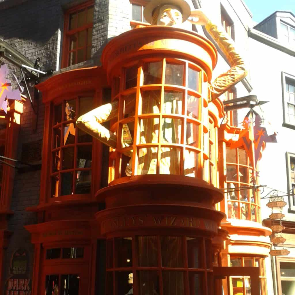harry potter world diagom alley