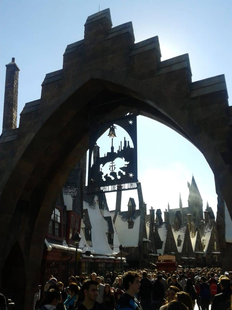 Harry Potter World Hogsmeade