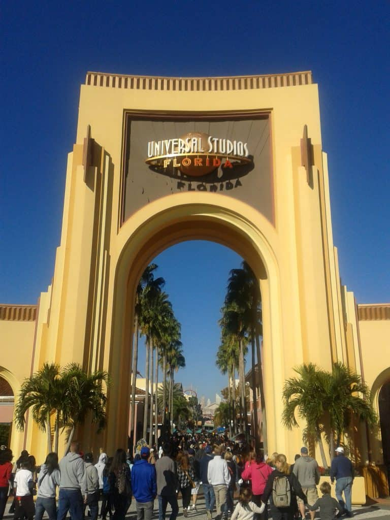 Entrance to Universal Studios