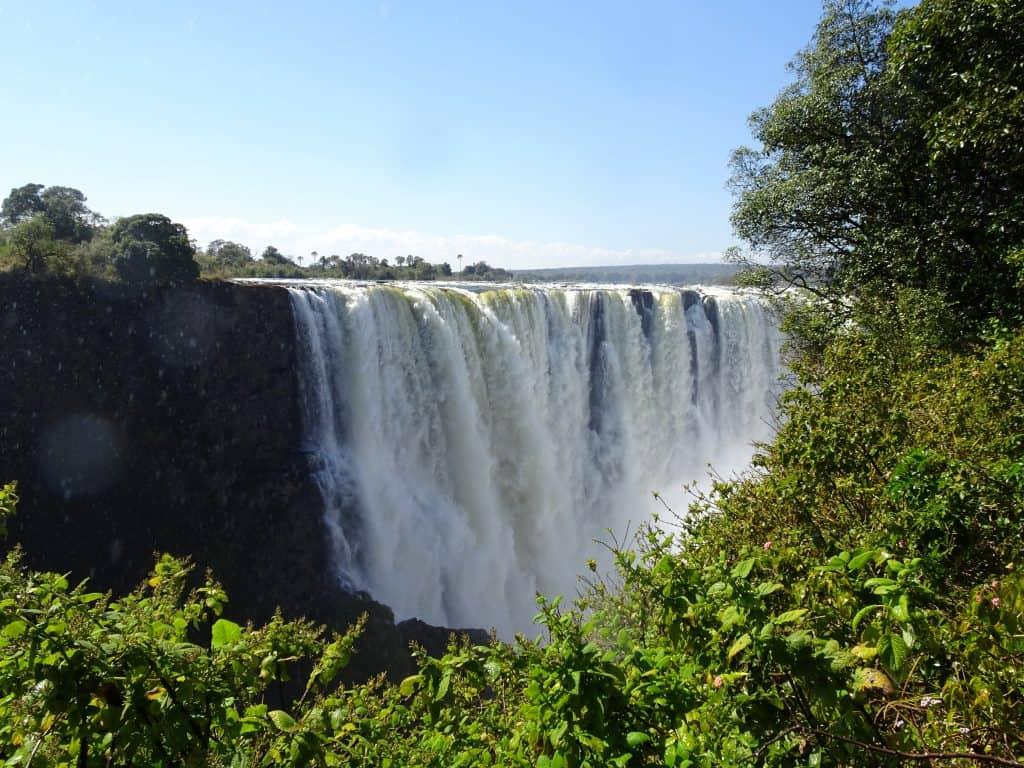 2017 travel highlights - Victoria Falls