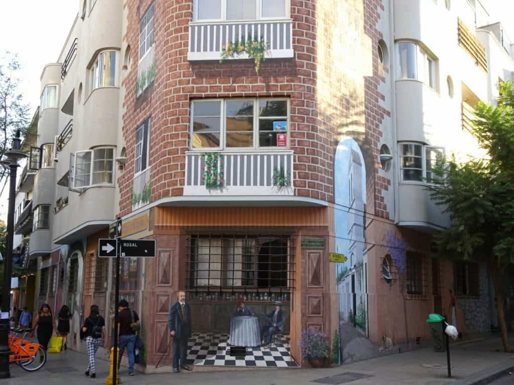 Lastarria Street Art - Santiago de Chile