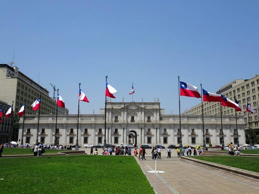 Palacio de la Mondeda - Santiago de Chile