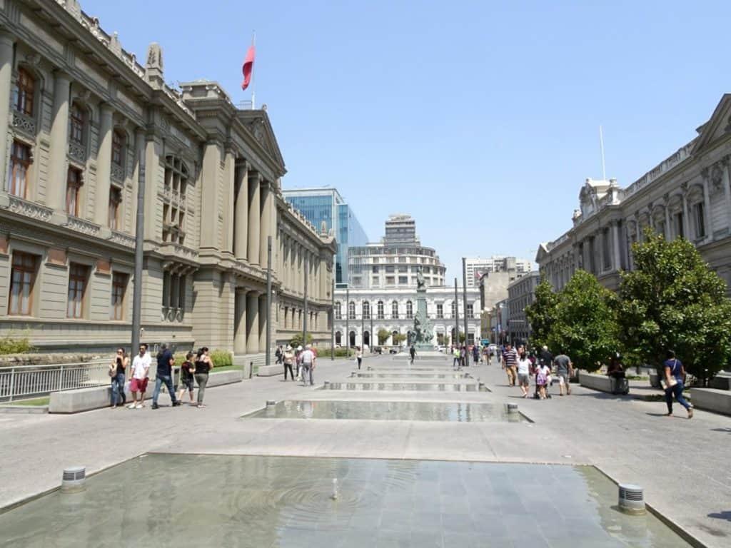 Santiago de Chile in Pictures - Downtown