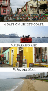 4 days on Chile's coast: Valparaiso and Viña del Mar - Pin