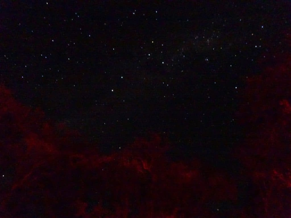 Night sky in teh Atacama desert