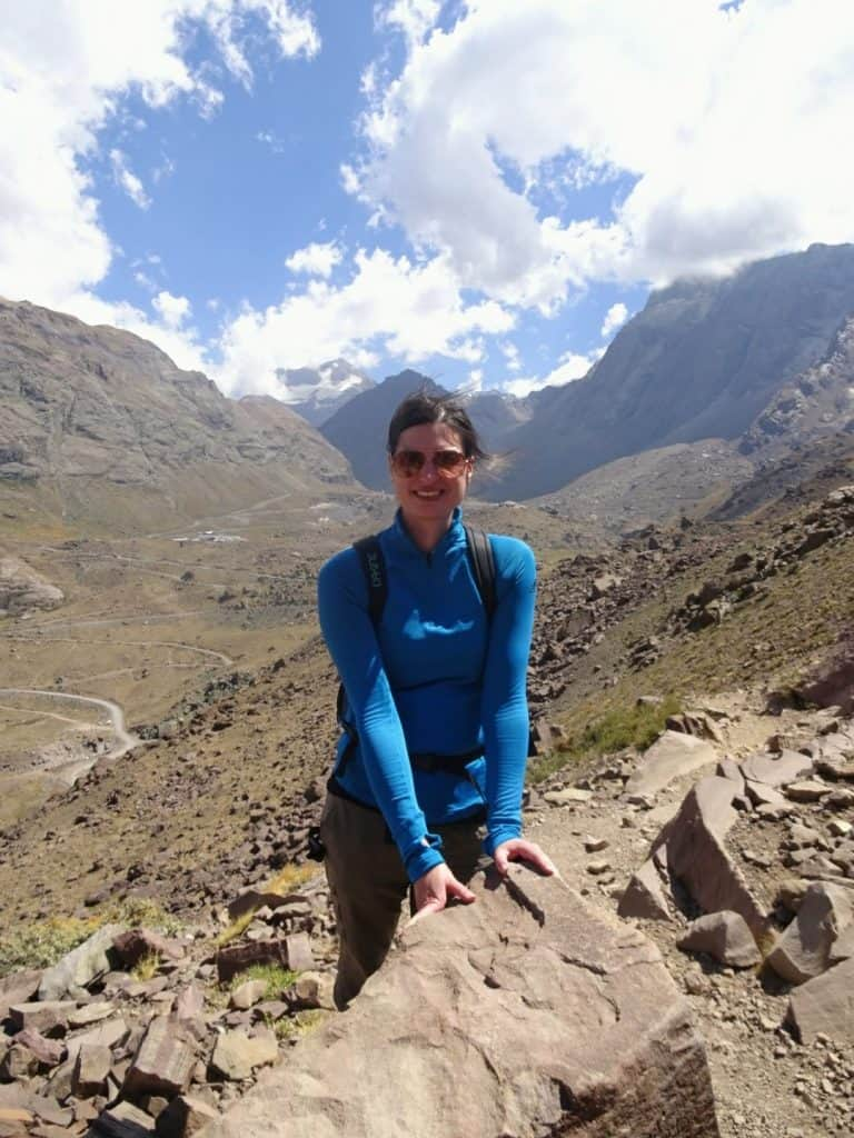 Hiking the Chilen Andes at Cajon del Maipo