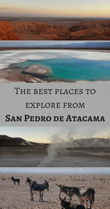 The best places to explore from San Pedro de Atacama - Pin