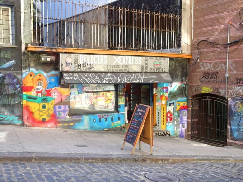 Valparaiso empanada shop
