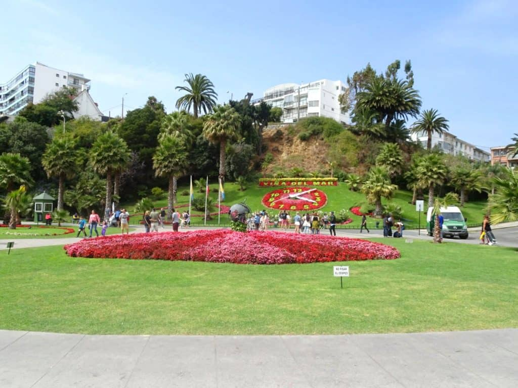 Vina del Mar Flower Clock