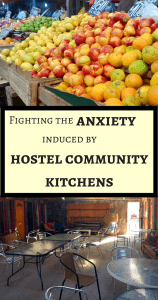 Fighting the anxiety induced by hostel community kitchens - Pin