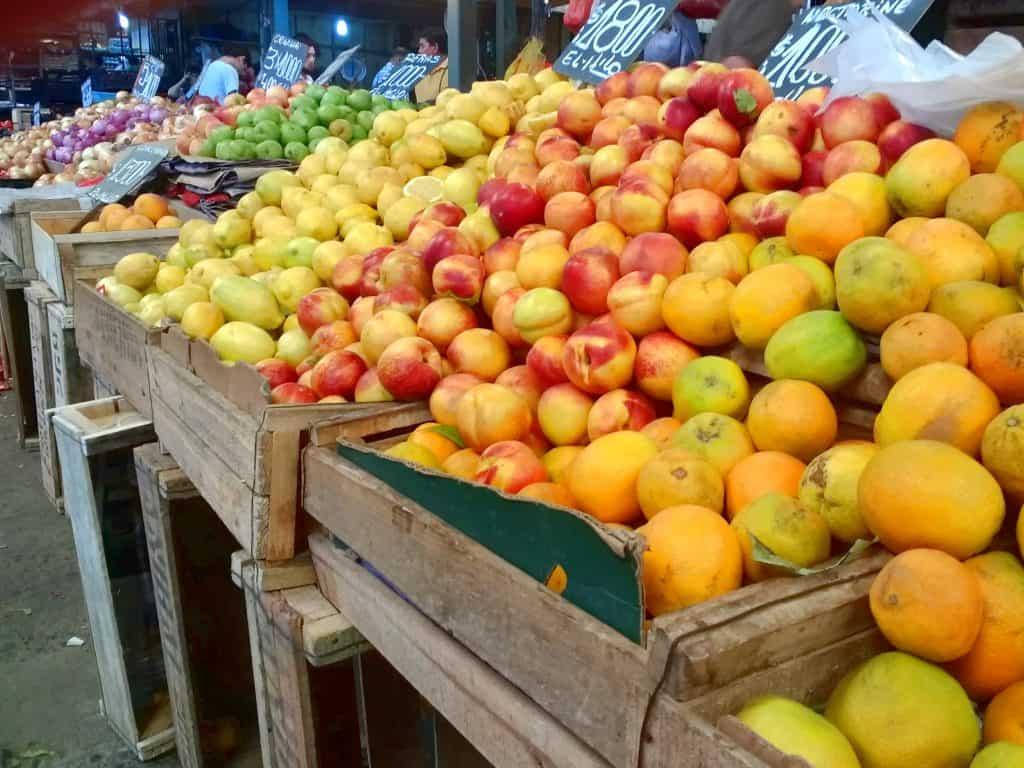 La Vega Central Market - Santiago