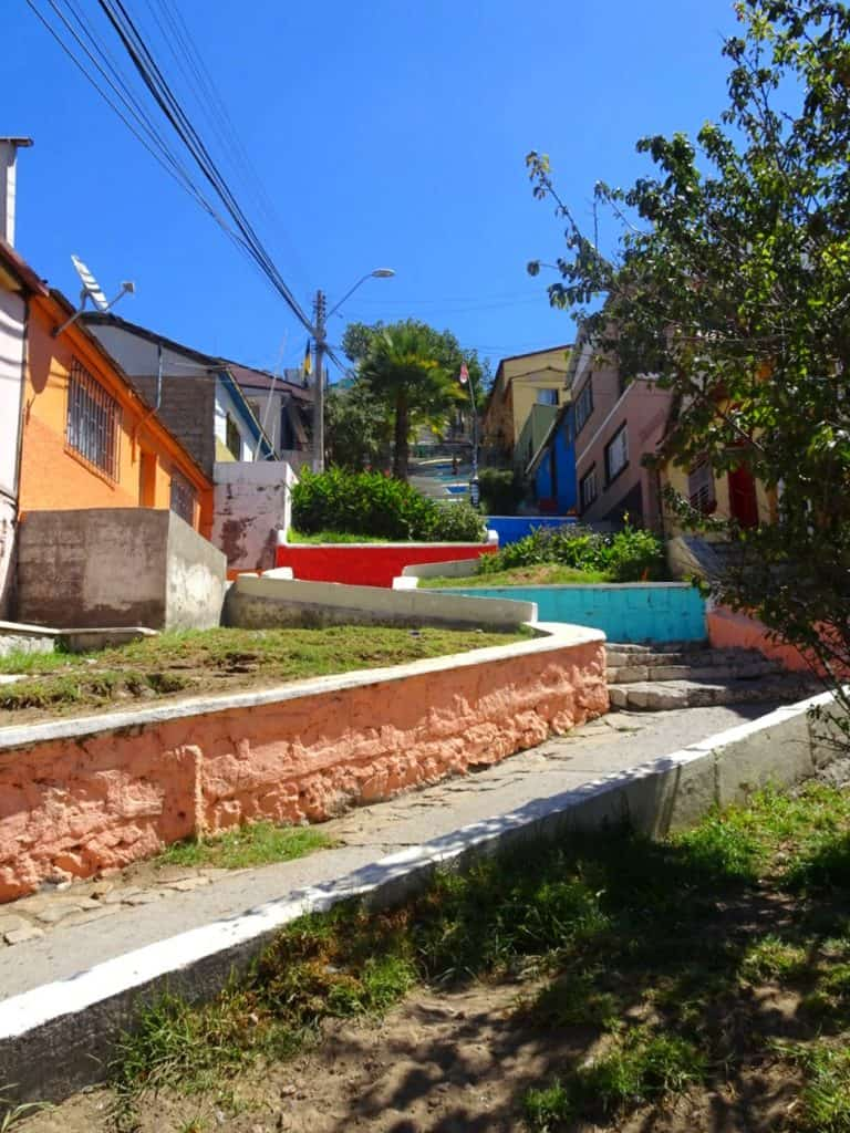 Coquimbo coloured steps