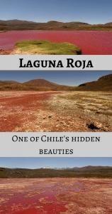 Laguna Roja Chile - Pin