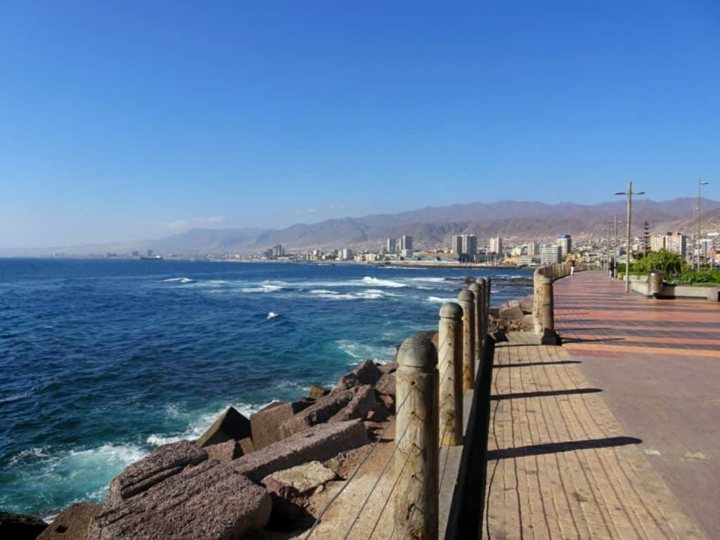 Antofagasta promenade