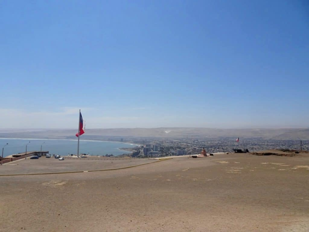 View over Arica - Chile