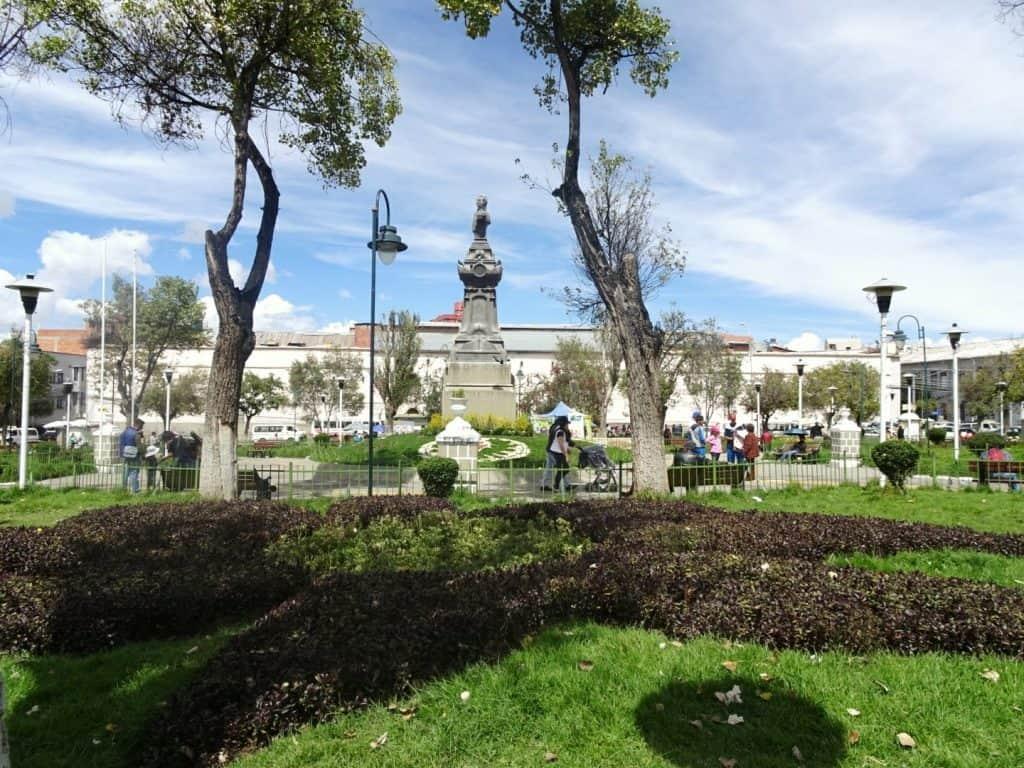 La Paz San Pedro Square
