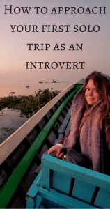 How to approach your first solo trip as an introvert Pin