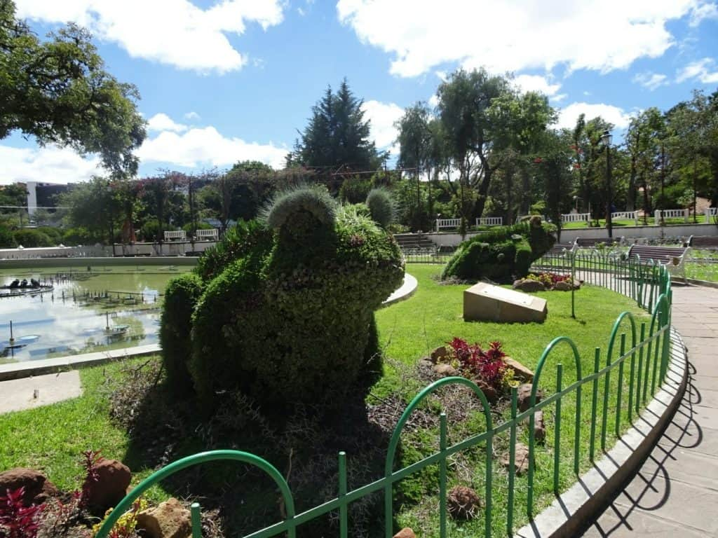 Parque O#Higgins Sucre