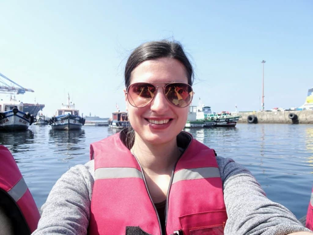 Me at Valparaiso Harbour Chile
