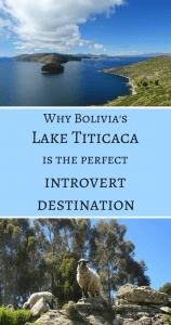 Lake Titicaca as introvert destination Pin