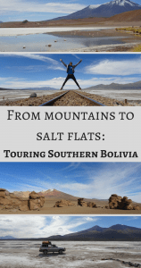 From mountains to salt flats Touring Southern Bolivia Pin