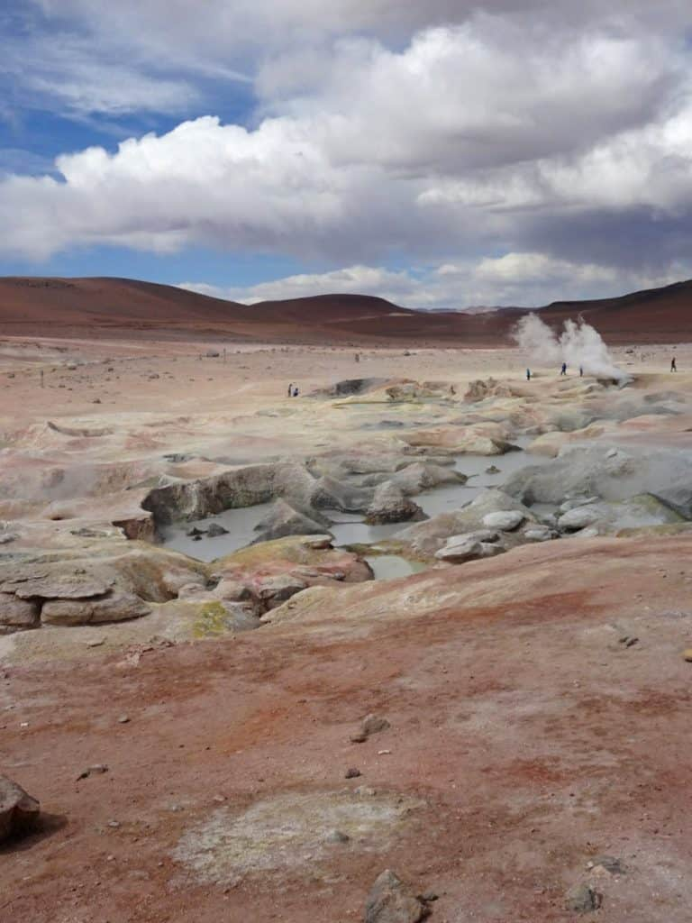 Geysers Southern Bolivia