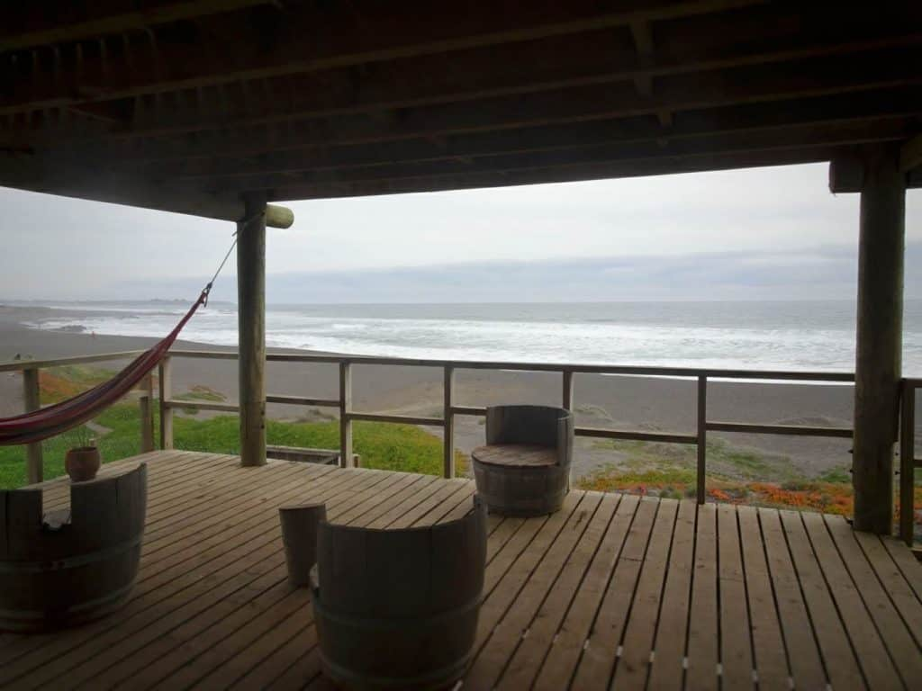 Pichilemu balcony with ocean view