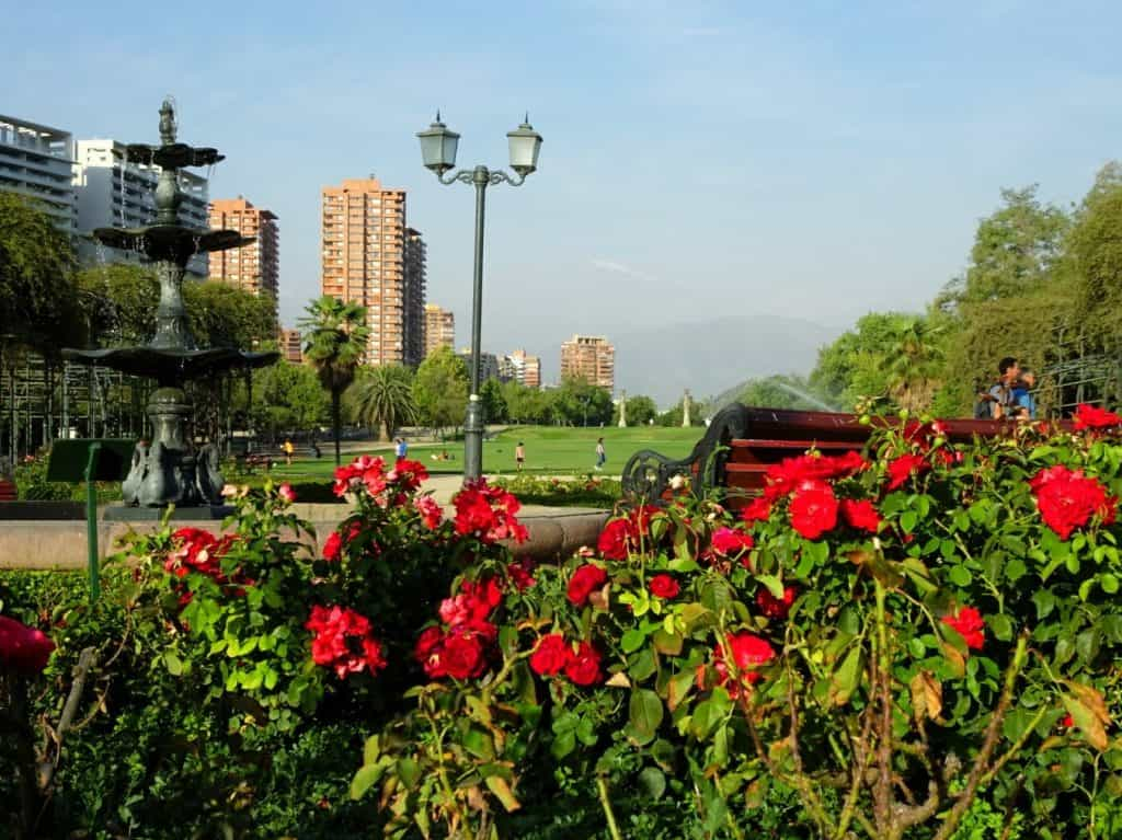 Parque Araucano Santiago de Chile