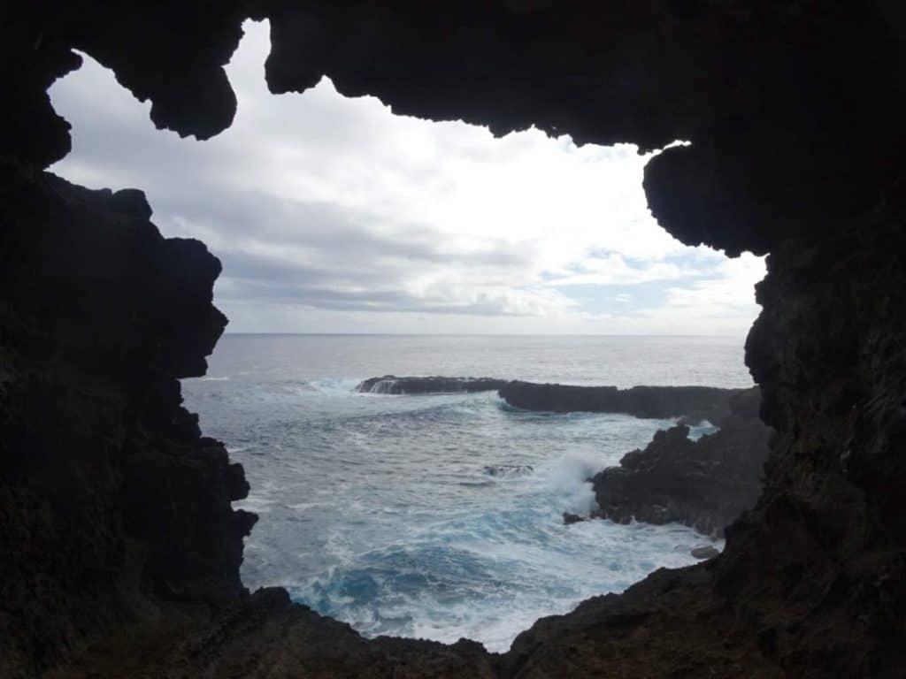 Ahu Karenga Cave Easter Island