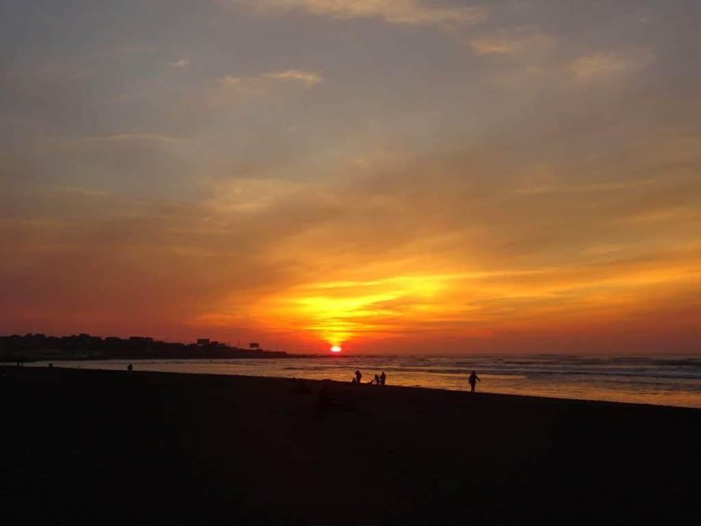 Pichilemu sunset