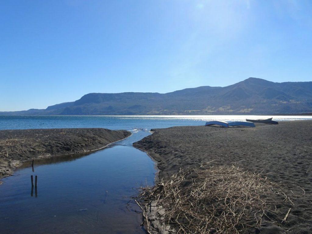 Pucón beach