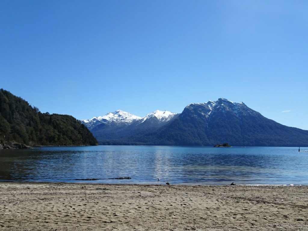 Beach Parque Municipal Llao Llao Bariloche Argentina