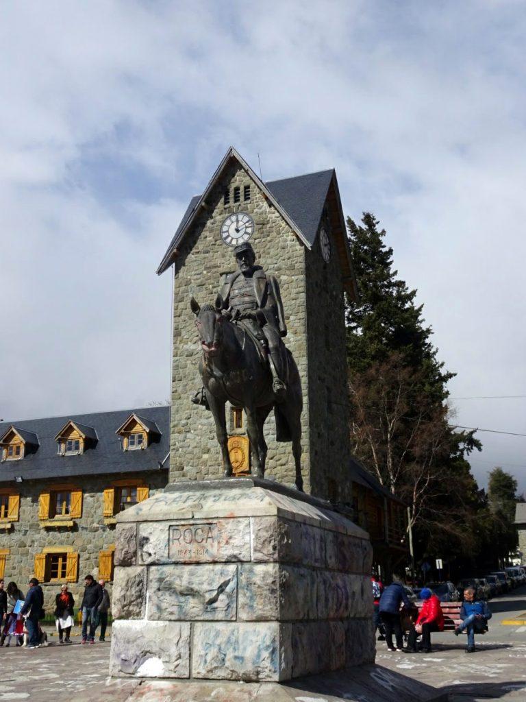 Monumento a Roca Centro Civico Bariloche Argentina