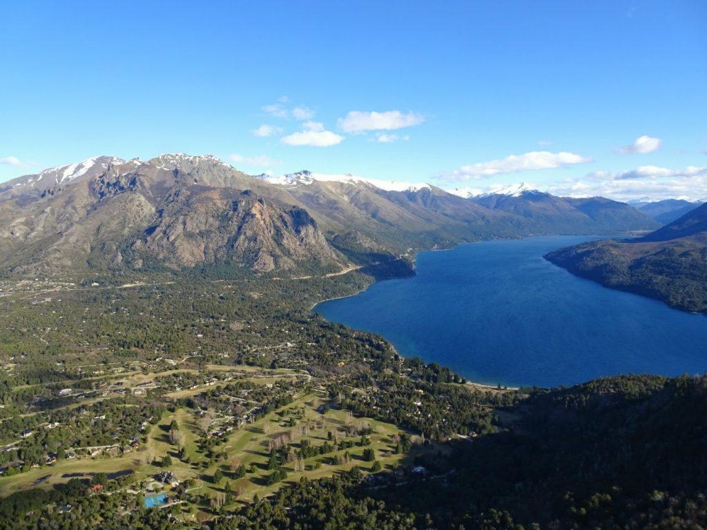 View from Cerro Otto Bariloche Argentina
