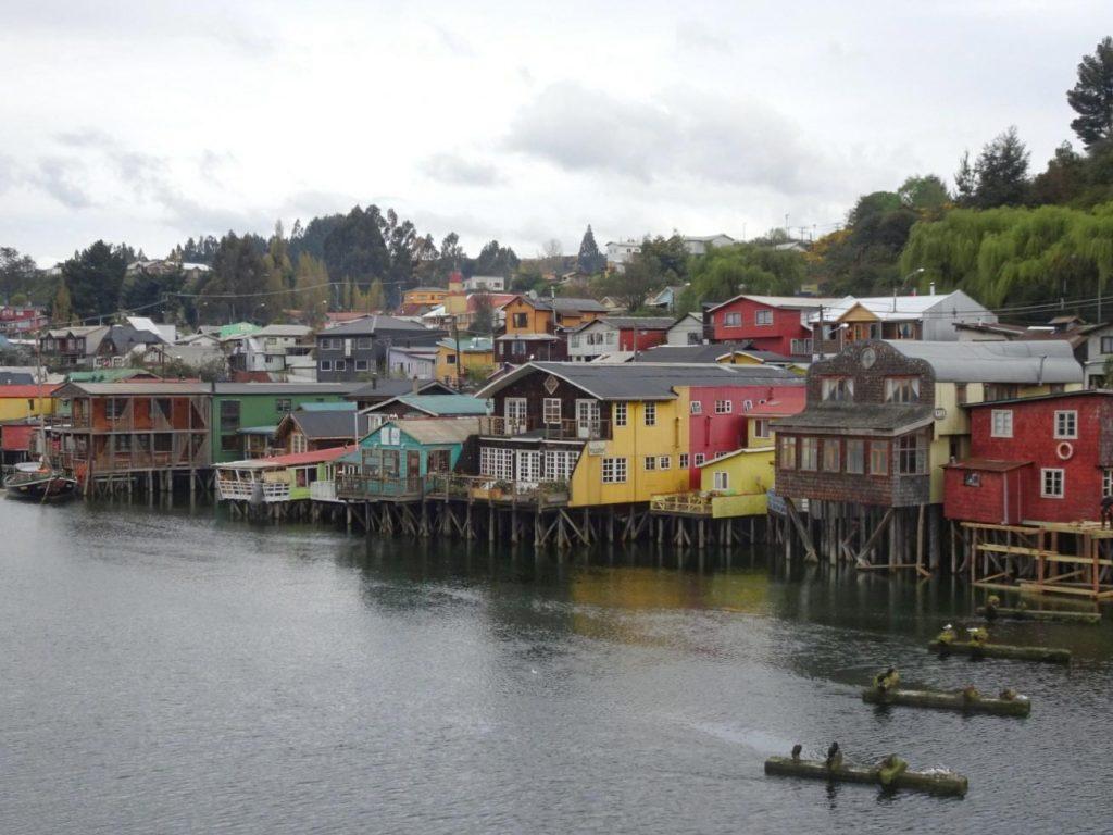 Castro Palafitos Chiloe island